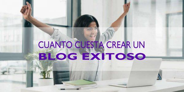 cuanto cuesta crear un blog